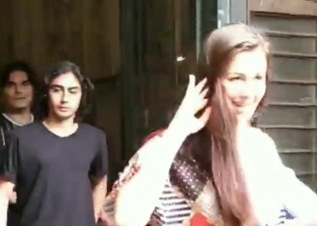 Arbaaz Khan, son Arhaan Khan, girlfriend Giorgia Andriani
