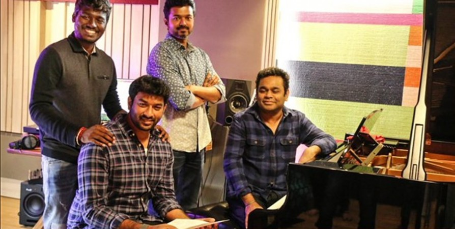 Vijay sings a song for Bigil
