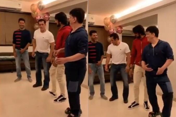 Sudeep-Salman Khan Dance