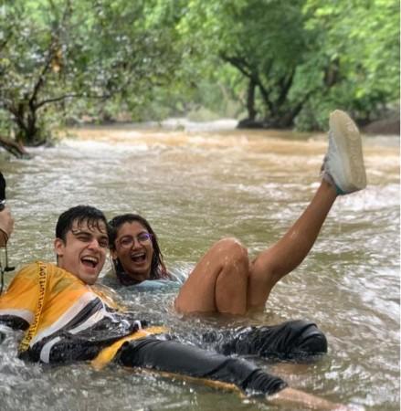 Sriti Jha's fun-filled day amid nature