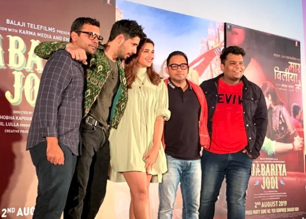 Sidharth Malhotra with Jabariya Jodi team