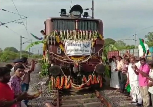 Water train for Chennai
