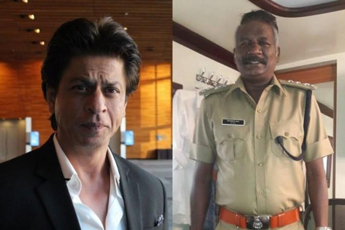 Shah Rukh Khan and IM Vijayan