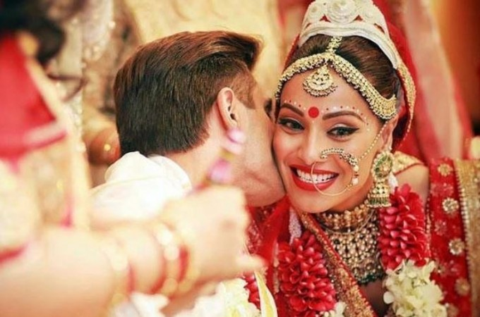 Bipasha Basu and Karan Singh Grover's wedding