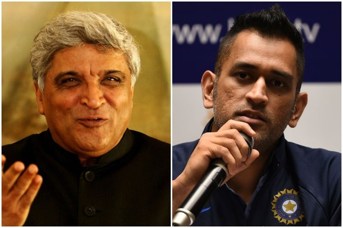 Javed Akhtar says MS Dhoni should not retire
