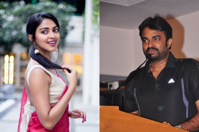 Amala Paul and AL Vijay