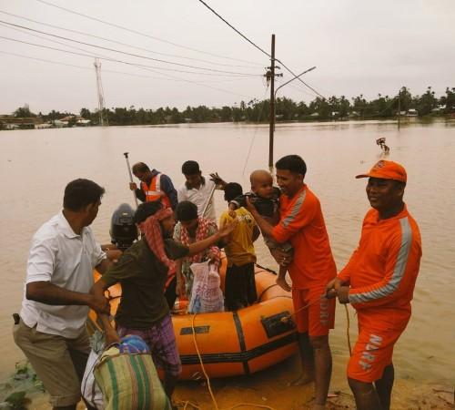 Bihar flood - NDRF rescue operations