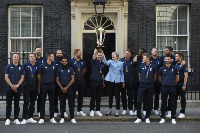 England cricket team British PM
