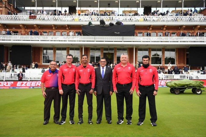World Cup final umpires