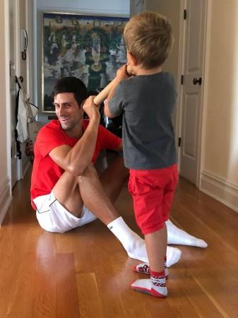 Novak Djokovic Krishna