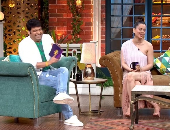 Kangana Ranaut takes dig at Karan Johar and Ranbir Kapoor on Kapil Sharma Show