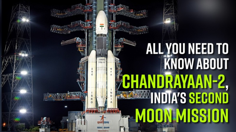 All you need to know about Chandrayaan-2, India's second moon mission