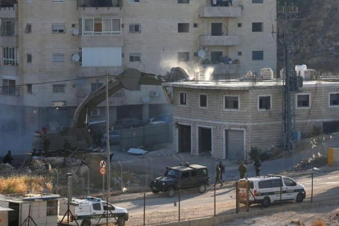 Israeli demolition-Palestine