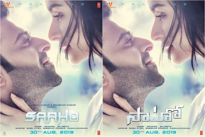 Prabhas and Shraddha Kapoor's new poster from Saaho