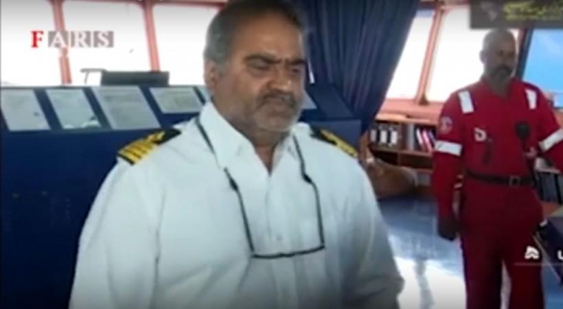 Indian captain-Stena Impero