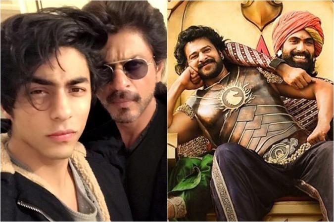Aryan Khan, Shah Rukh Khan, Prabhas, Rana Daggubati