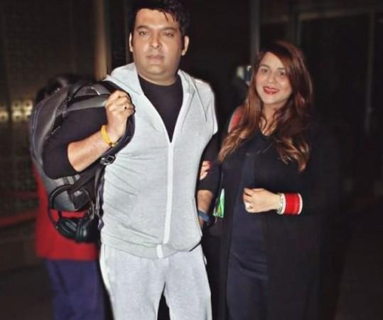 Kapil Sharma and Ginni