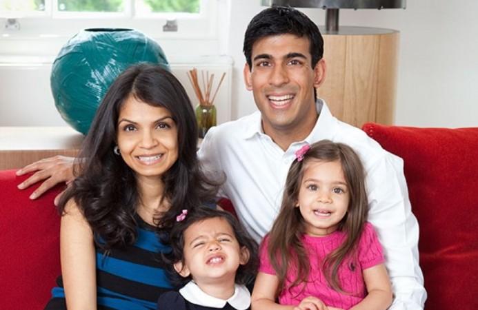 Rishi Sunak's family