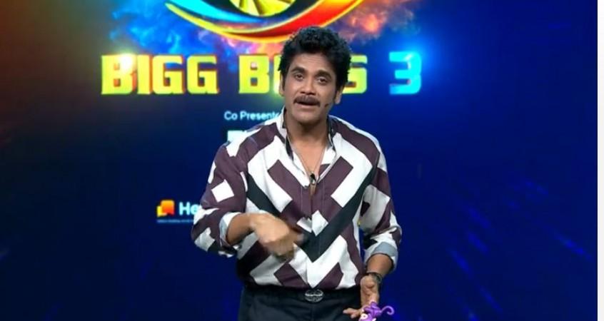 Akkineni Nagarjuna on Bigg Boss Telugu 3 on Saturday