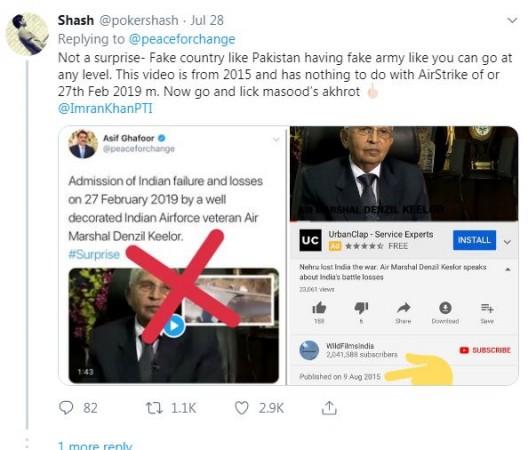 pakistan balakot airstrike tweet 3