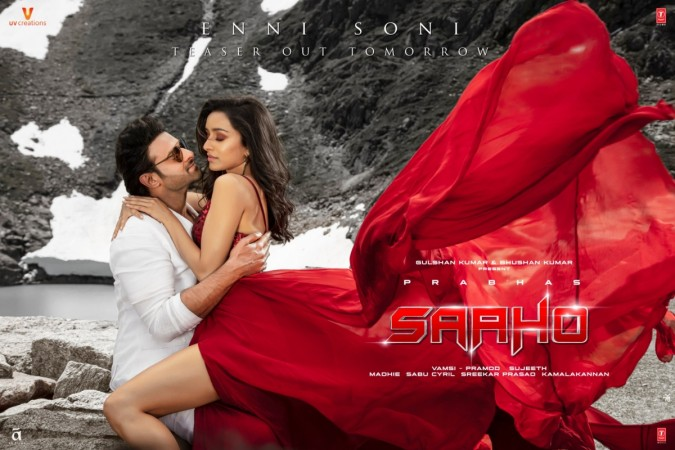 Prabhas and Shraddha Kapoor in Saaho