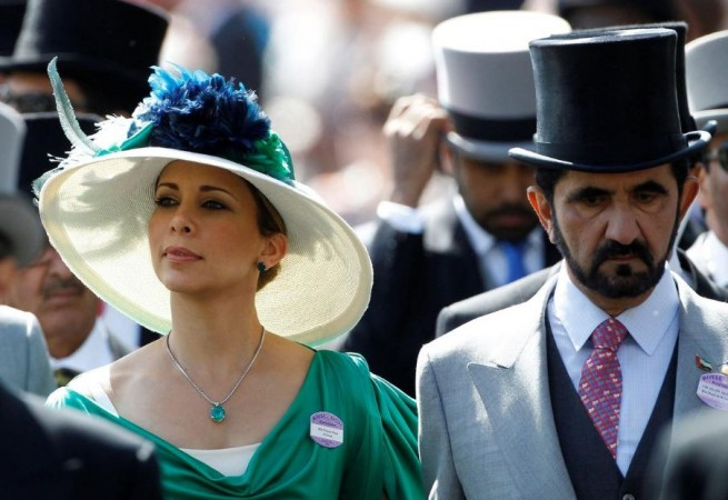 princess haya and Dubai ruler