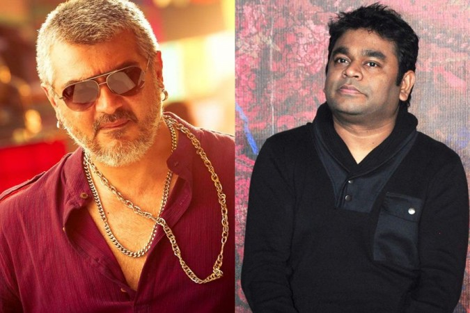 Ajith and AR Rahman