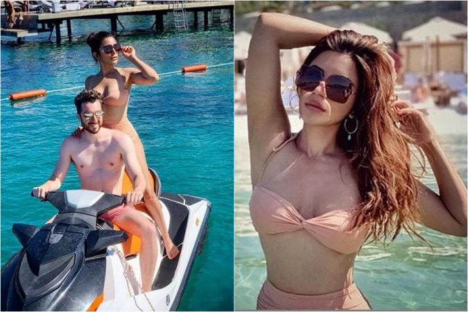 Yeh Meri Life Hai star Shama Sikander flaunts her bikini