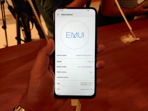 Huawei Y9 Prime 2019 first impressions