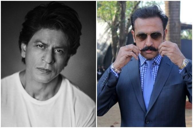 Shah Rukh Khan and Gulshan Grover