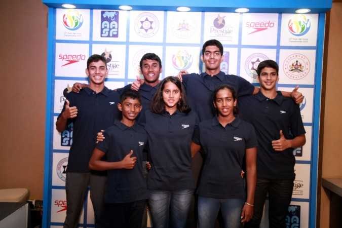 Indian young swimmers