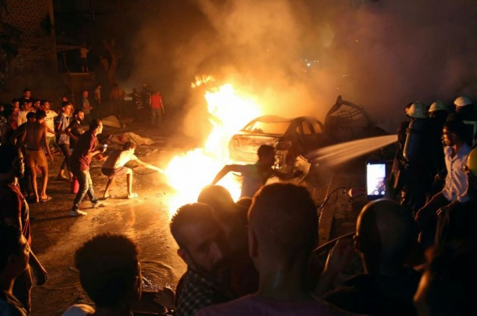 car explosion in egypt