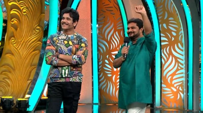Nagarjuna with Jaffar Babu