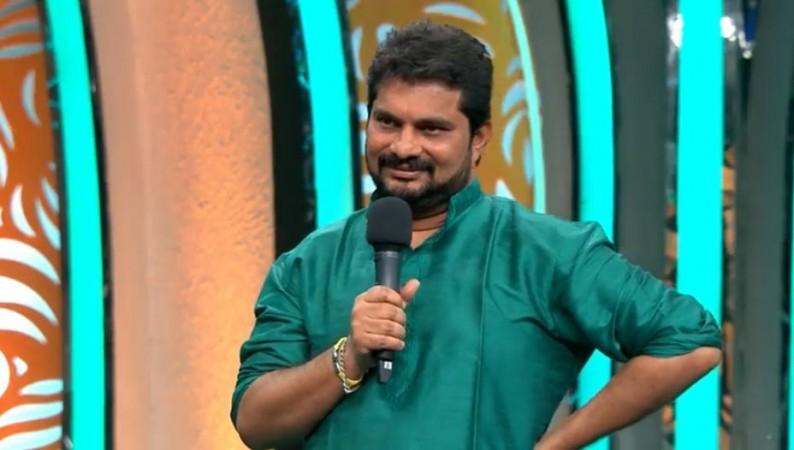 Jaffar Babu addressing Bigg Boss Telugu 3 contestatns after his elimination