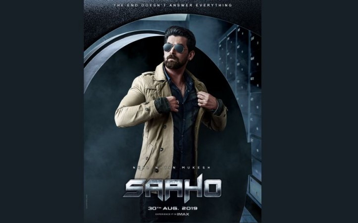 Neil Nitin Mukesh first look from Saaho