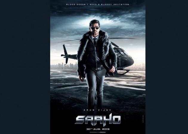 Arun Vijay's character poster from Saaho