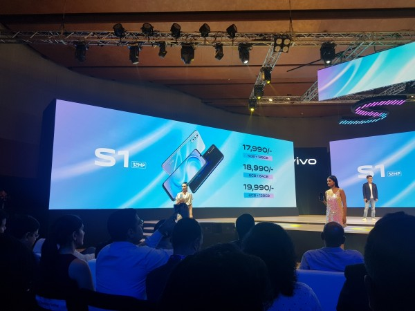 Vivo S1 launch
