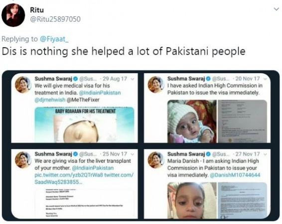 sushma swaraj tweet 5