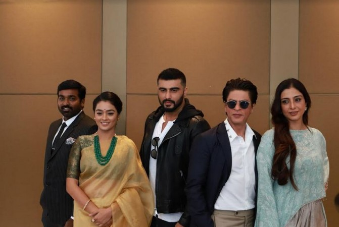 Shah Rukh Khan with other celebs at the IFFM