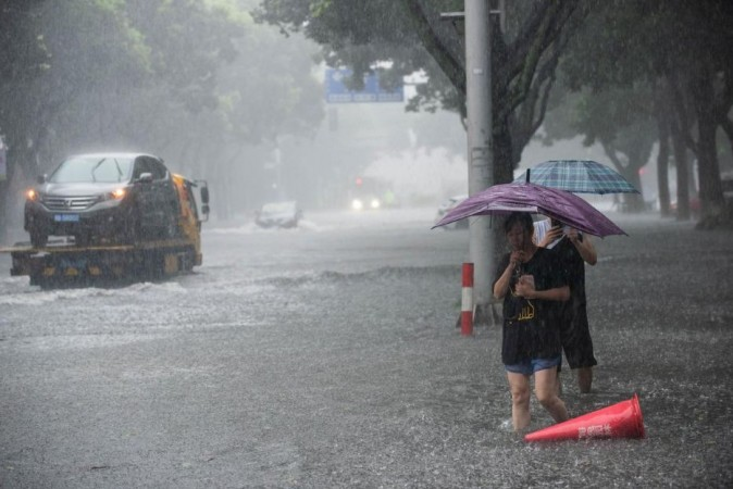 Typhoon in China