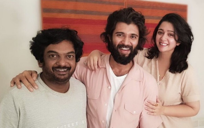 Puri Jagan with Vijay Devarakonda and Charmme Kaur