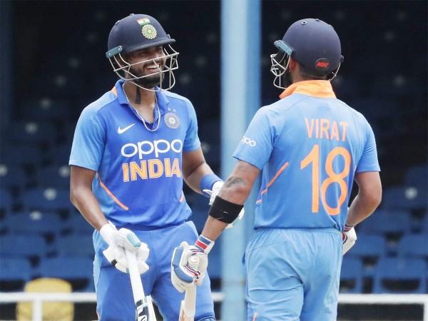 Shreyas Iyer and Virat Kohli