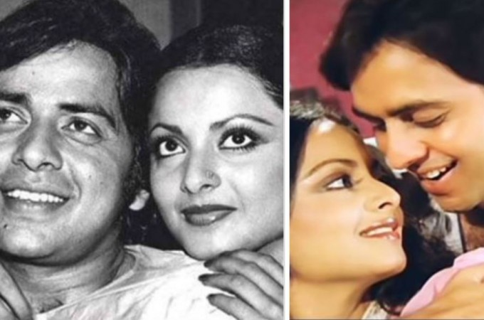 Vinod Mehra and Rekha