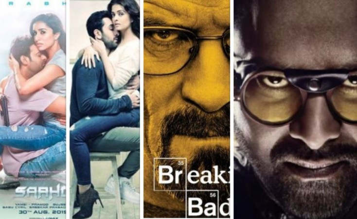 Saaho posters copied