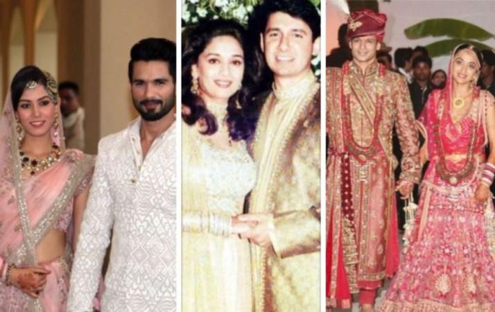 Shahid - Mira, Madhuri - Shriram, Vivek - Priyanka