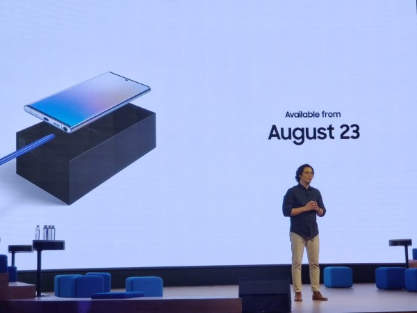 Samsung Galaxy Note 10 launch
