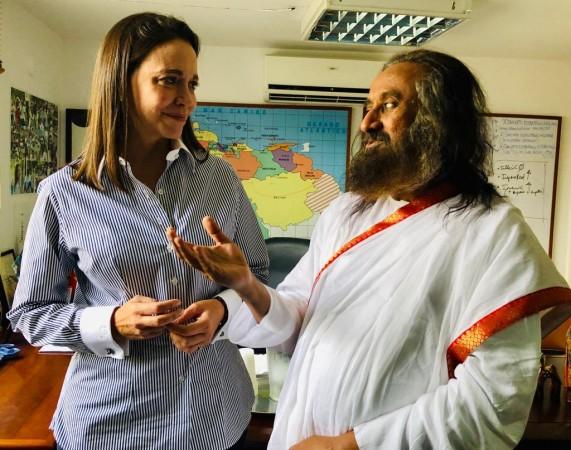Art of Living founder in Venezuela