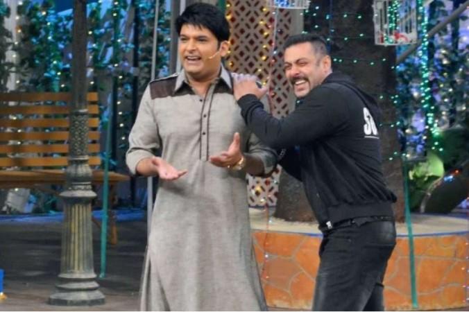 Salman Khan and Kapil Sharma
