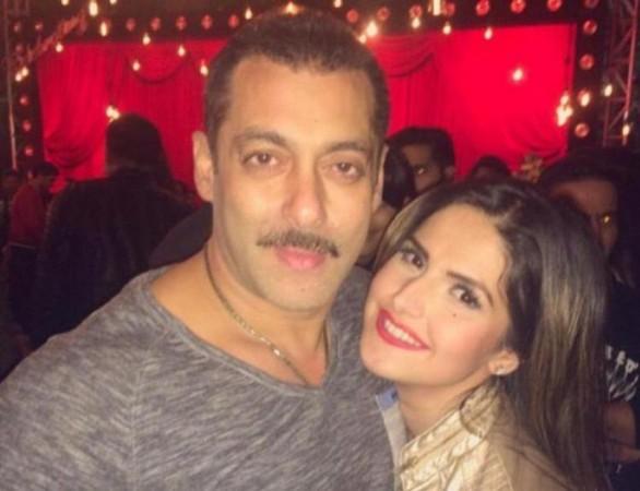 Salman Khan, Zareen Khan