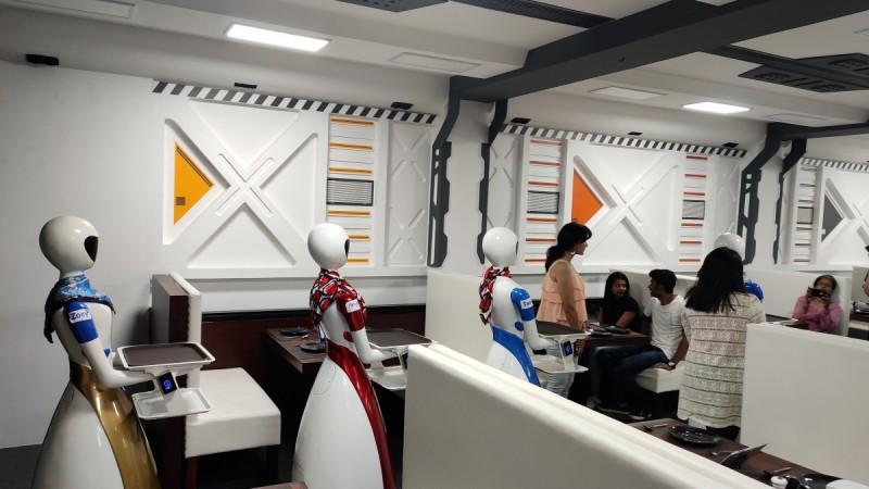 Robot Restaurant, Bengaluru
